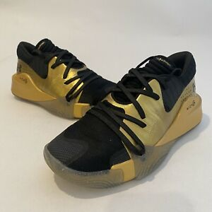 Under Armour Spawn Anatomix Basketball Shoes 3021263 003 Black Gold Size 7.5 $59.99