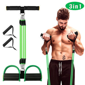Pedal PullerChest Expander Resistance Band Tension Rope Fitness Home Workout US