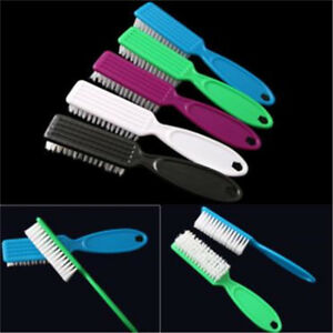 Plastic Finger Nail Art Dust Clean Cleaning Brush Manicure Pedicure Tool S $1.37