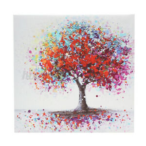 Colorful Tree Abstract Canvas Print Art Oil Painting Picture Wall Decor