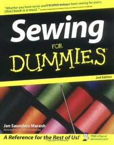 Sewing For Dummies by Saunders Maresh Jan Paperback Book The Fast Free Shipping $7.99