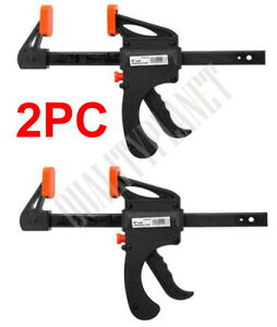 2pc 6 Ratcheting Bar Locking Holding Clamp Ratchet Spreader Squeeze Woodwork $17.99
