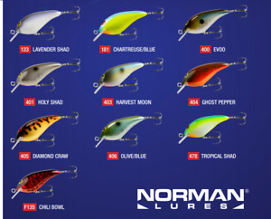 Norman Speed N Crankbaits NEW FOR 2020 Choose Color