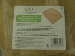 3 piece Bamboo cutting boards new