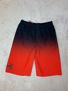 Under Armour Youth Boys YXL Red With Black Golf Shorts YXL $15.25