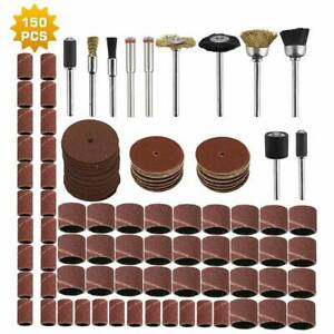 150X Rotary Tool Accessories set Grinding Polishing Cutting Sanding for Dremel
