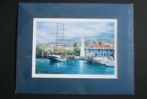 Three vintage signed Larry Dotson lithographs in original shrink wrap 33 years $244.00