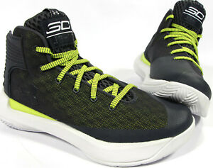 UNDER ARMOUR boys Steph Curry 3Zer0 Basketball Shoes 6 Youth NEW UA sneakers $38.99