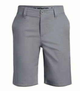 UNDER ARMOUR GOLF Shorts 20 MATCH PLAY Youth Boys HeatGear Loose Stretch NWT $24.00