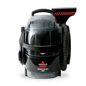 BISSELL SpotClean Black Portable Carpet Cleaner - 3624 | BRAND NEW