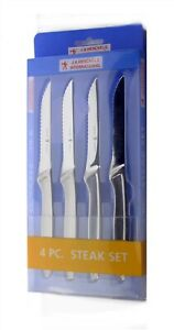 J.A. Henckels International Stainless Steel 4 Piece Steak Knife Set - Brand New
