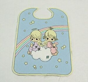 Precious Moments Bib Quilted Sewing Panel Baby Boy amp; Girl $4.99