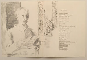 JANE FREILICHER lithograph 1967 IN MEMORY OF MY FEELINGS Frank O'Hara MOMA  $60.00