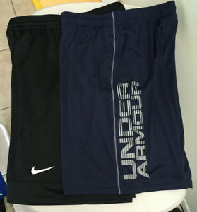 Men's Basketball Athletic Shorts Lot Of 2 Nike & Under Armour Size Large $30.00