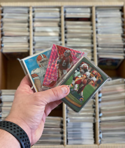 NFL Football Card Packs Choose your Team 50 cards per Pack