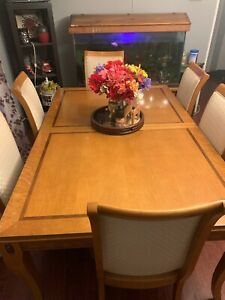 Big Dining Table Set For 8 And Big China Cabinet