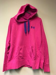 Under Armour Storm Cold Gear Women's Pink Pullover Hoodie Jacket XL $21.99