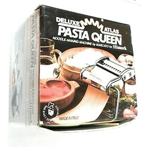 Deluxe Atlas Pasta Queen Stainless Steel Noodle Making Machine