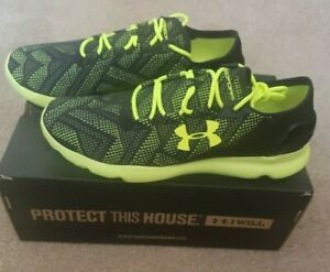 New Under Armour Speedform Apollo Vent Mens Size 12.5 Running Shoe 1252287 002 $55.00