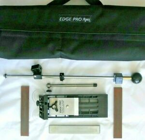 Edge Pro Apex 1 ~ Knife Sharpening System ~ Precision Tool ~3 Stones~Case~Used