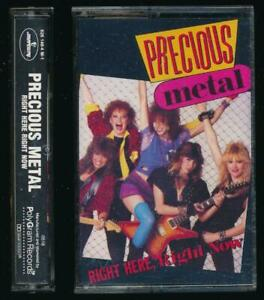 Precious Metal Right Here Right Now 1985 Cassette Heavy Metal Hard Rock Female $9.99