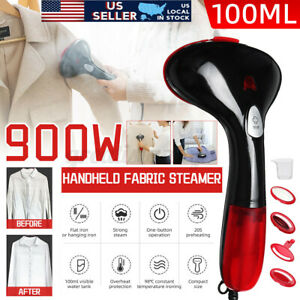 110V Portable Electric Steam Iron Handheld Fabric Clothes Laundry Steamer US