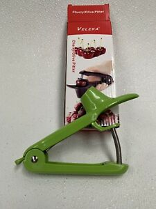 Veleka Olive Cherry Pitter One Hand Operation Easy Scoop Action Free Shipping