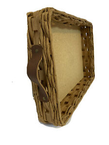 Wicker Basket Pyrex Casserole Carrier Holder Pyrex Dish Included Hospitality $25.00