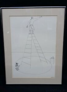 Alexander Calder Performer w Trained Poodle Circus Art in America Ladder Dog $150.00