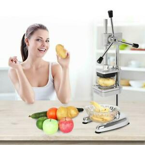 Potato French Fry Fruit Vegetable Cutter Slicer Commercial Quality with 3 Blades