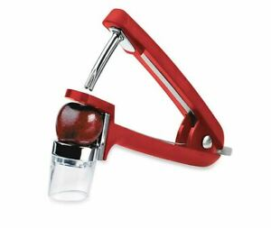 OXO Good Grips Cherry and Olive Pitter Red Kitchen BRAND NEW FREE SHIP $28.99