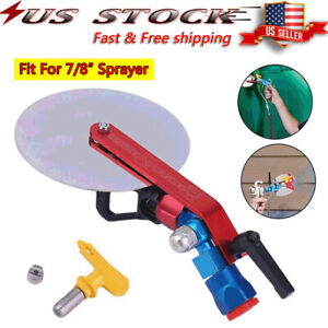 Universal Metal Spray Guide Accessory Tool For 7 8#x27;#x27; inch Airless Paint Sprayer