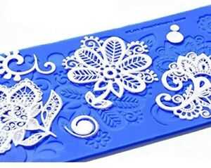 Bebe Silicone Lace Mat CRYSTAL CANDY New With Tag