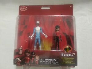 Disney Collection Incredibles 2 Frozone amp; Violet Action Figure Set Free Shipping $9.95