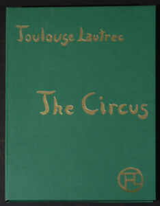 39 lithographs after Toulouse Lautrec Circus 1990 limited edition folio $1200.00
