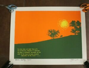 Jack Lord pencial signed Lithograph quot;Maui Cowboyquot; limited ED 112 200 $130.00