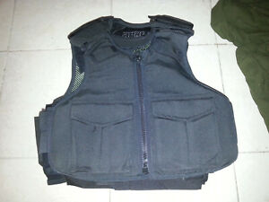 SMALL Body Armor Bullet Proof Vest With Plates panels level II $115.00