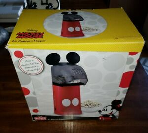 Disney Mickey Mouse Air Popcorn Popper Kitchen Small Appliance