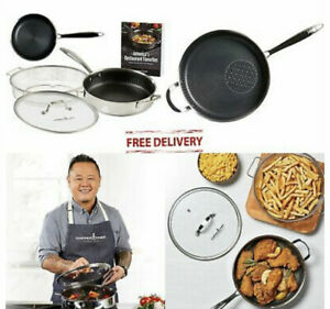 Copper Chef Titan Pan by Jet Tila 11quot; Copper Chef Titan Pan with Lid And Set
