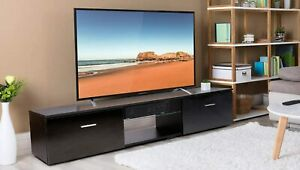 63quot; TV Stand Entertainment Center Modern End Coffee Table Home Furniture Cabinet