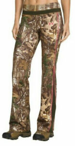 Under Armour Women#x27;s Cold Gear Infrared Camo Hunting Pants 1247104 Size XL NWT