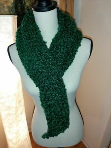 Handmade Loom Knit Thick Scarf