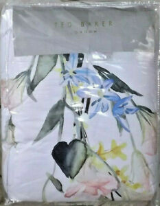 2PC Ted Baker London ELEGANT Twin Comforter and Sham Set NEW Floral