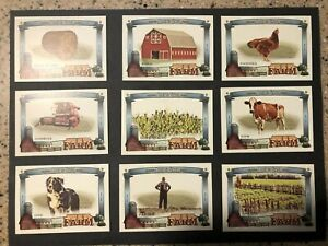 2020 TOPPS ALLEN amp; GINTER BASEBALL DOWN ON THE FARM INSERTS YOU CHOOSE MLB CARD $0.99