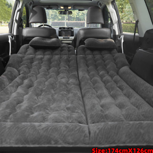 Car Air Bed Inflatable Mattress Back Seat Pads w Pillow Pump Travel Camping. $37.38