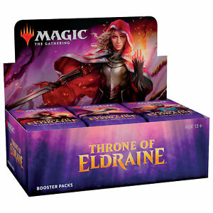 Magic MTG Throne of Eldraine Booster Box English Factory Sealed NEW