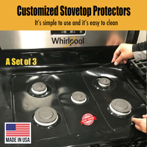 Whirlpool Stove Protectors Custom cut to fit your Stove Lifetime Warranty $28.95