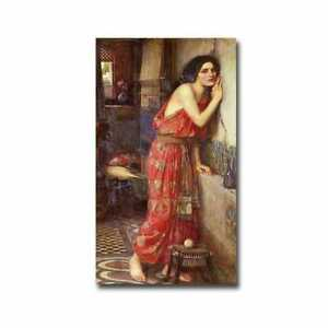 Thisbe 1909 by John Waterhouse Gallery Wrapped Canvas Medium $91.79