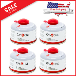 100 g Isobutane Camping Fuel Blend Canister 4 Pack