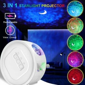 3in1 Rechargeable LED Galaxy Starry Projector Star Moon Night Light Sky Lamp USB $27.97